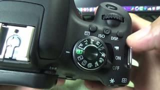 Nhiếp ảnh - 12 - Các chức năng của máy chụp hình Canon 750D