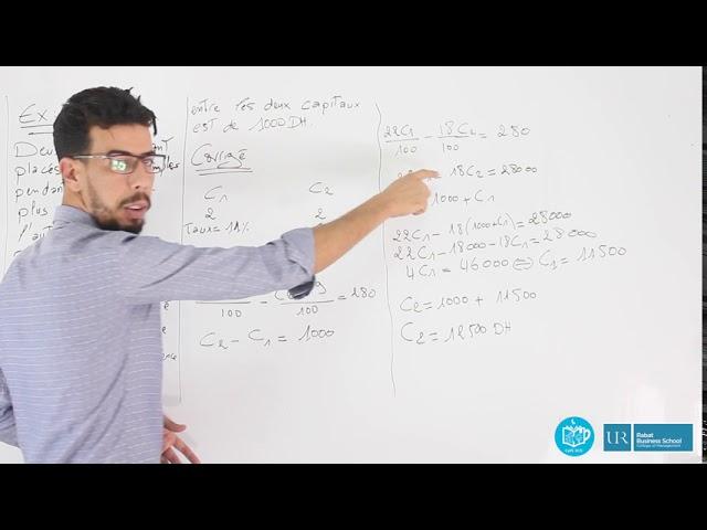 Révision Mathématiques Financières S2 #EP16_Exercice1_Intérêts_simples