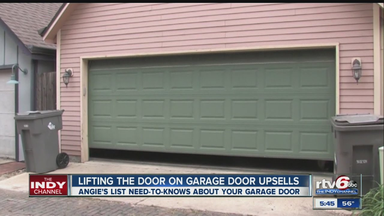 Angies List Tips For Garage Door Repair Youtube