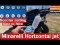 Minarelli Horizontal Bigger Jet Install ( Yamaha Jog Jetting) How To Jet A Scooter. E Ton Beamer