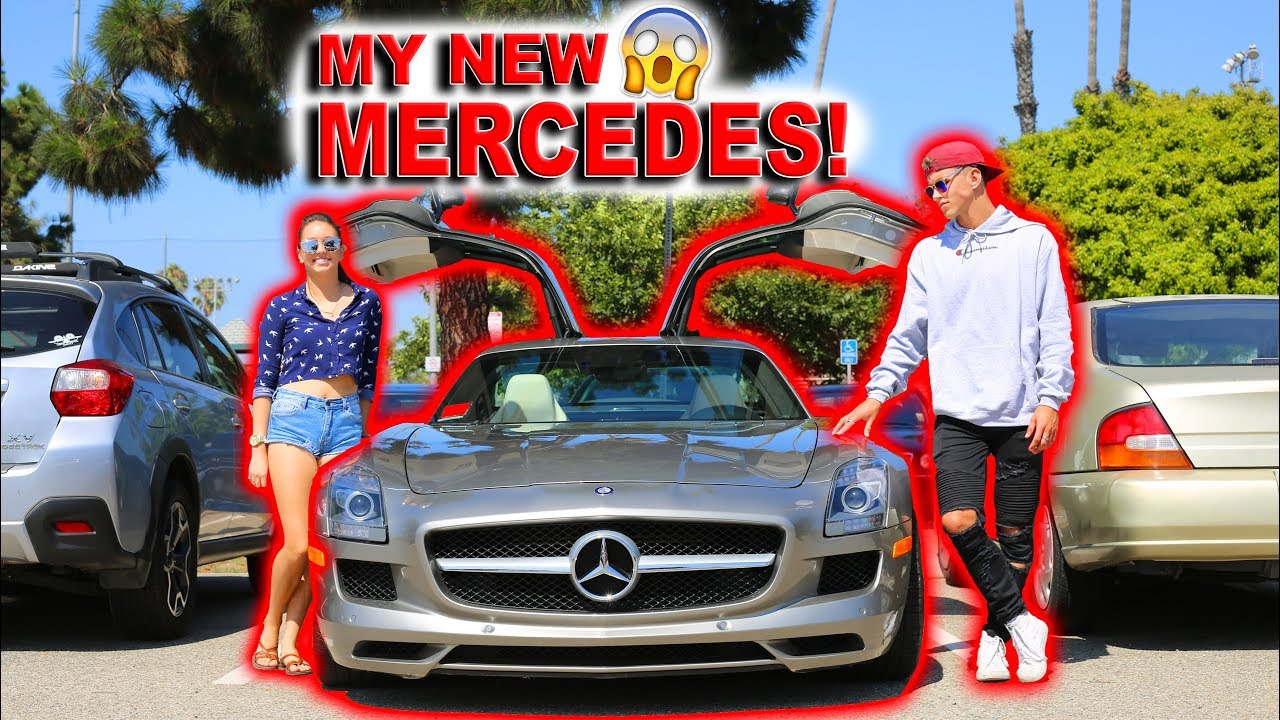 SHE SURPRISED ME WITH A NEW MERCEDES!!! **AMAZING REACTION**