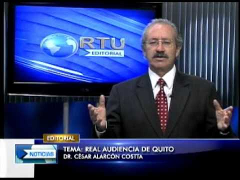Editorial RTU Noticias 29/08/2012 Tema: Real Audiencia de Quito