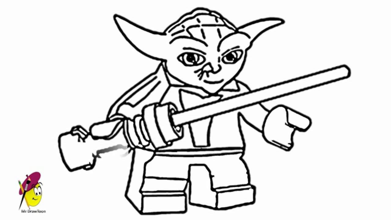 Yoda Lego Star Wars Hero How to draw Yoda from Star wars YouTube