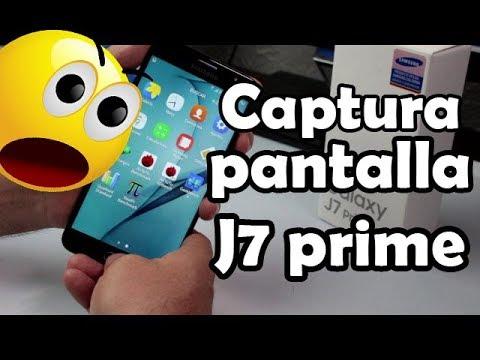 How to Take a Screenshot on Samsung Galaxy J7 prime