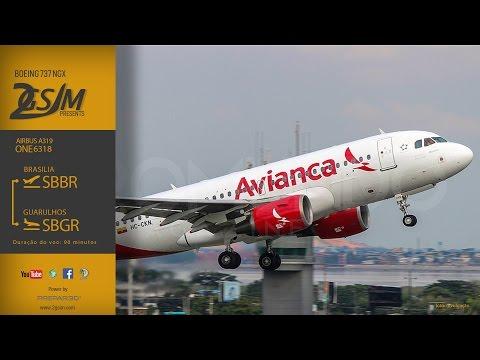 [Prepar3D] [IVAO] Avianca A319 / SBBR-SBGR