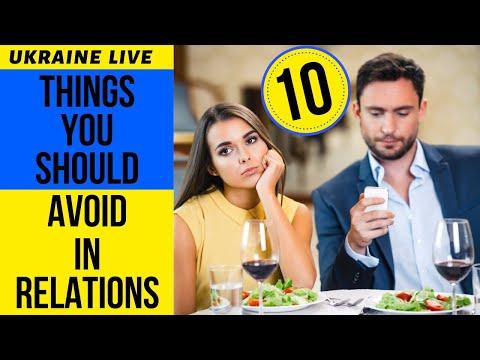 Top 10 Things You Should Avoid In Relationship With Beautiful Ukrainian Women.