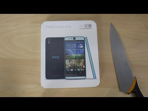 HTC Desire EYE - Unboxing (4K)