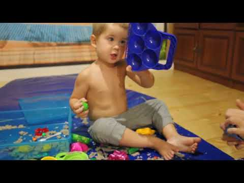 Что такое кинетический песок - говорят дети