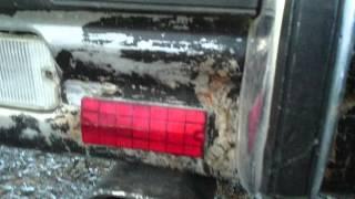 CHRYSLER Lebaron 78 Rear Bumper