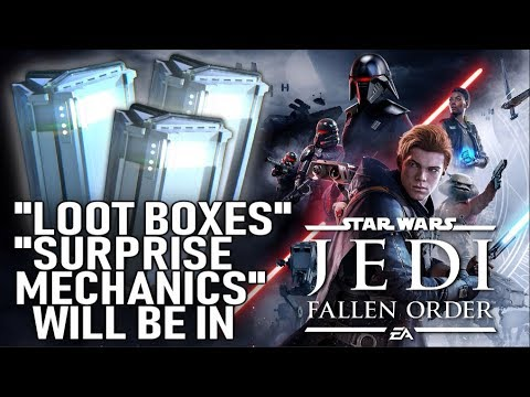Star Wars Jedi Fallen Order Will Now Have Loot Boxes or Surprise Mechanics! thumbnail