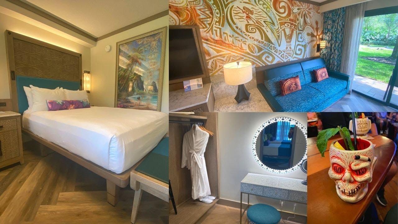 The NEW Moana Rooms At Disney's Polynesian Resort | Standard Room | 1 Bedroom Suite | Trader Sam's!