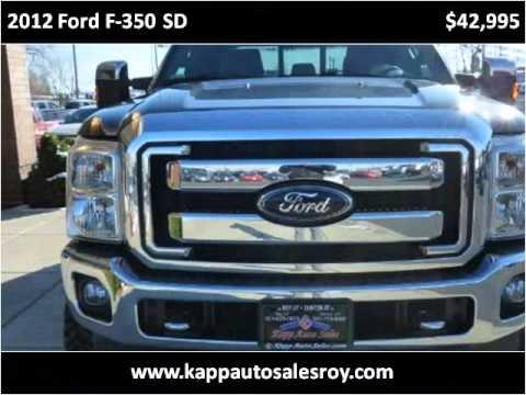 Kapp Auto Sales >> 2012 Ford F-350 SD Used Cars Roy UT - YouTube