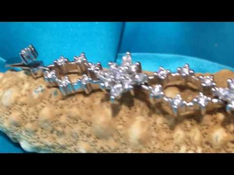 diamond bracelet at DK Gems BEST St Martin jewelry stores