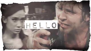 Hello | Dean Ambrose + AJ Lee (WWE)