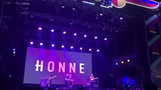 HONNE - GOOD TOGETHER AT WE THE FEST 2018