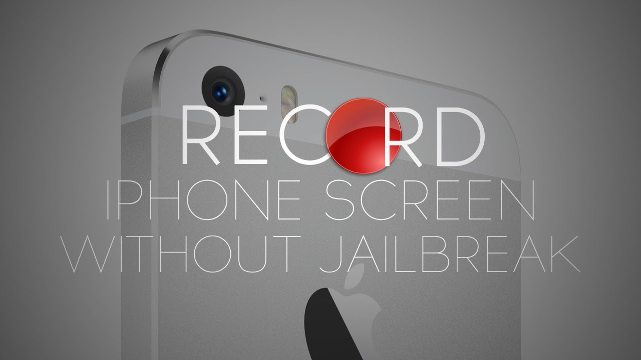 how to record your ipod screen without jailbreak free