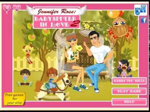 Игра Дженифер Роуз: Влюбленная няня 2 #1