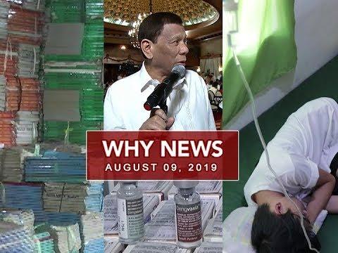 UNTV: Why News (August 09, 2019)