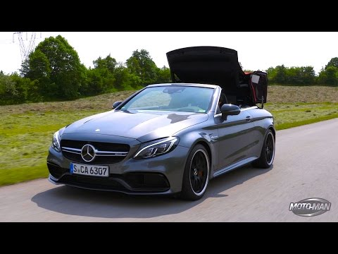 2017 Mercedes Benz C63 S AMG CONVERTIBLE FIRST DRIVE REVIEW (2 of 2)