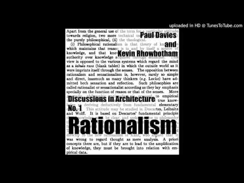 Discussions in Architecture No.1_ RATIONALISM
