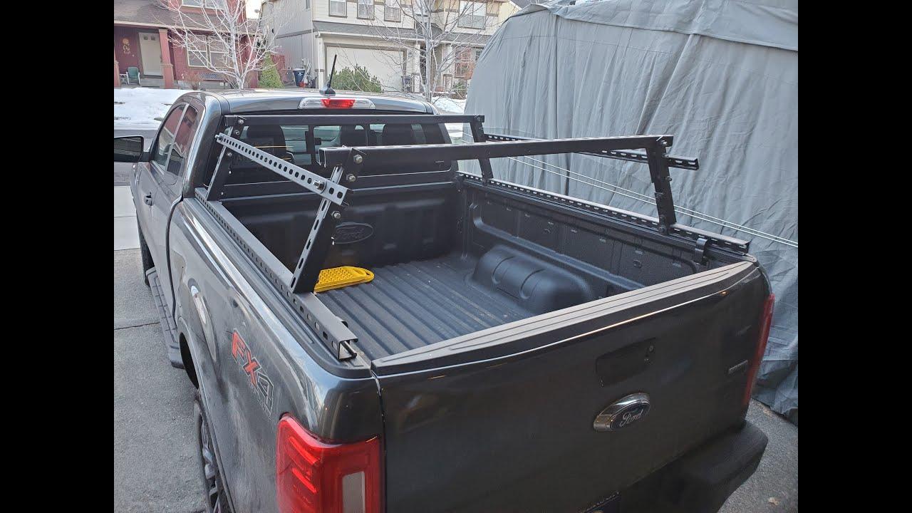 diy truck bed rack using unistrut