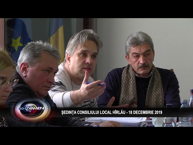 SEDINTA CL HARLAU, 20 DEC 2019