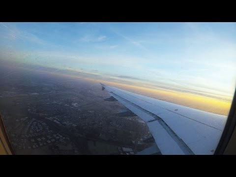 Brussels - Stuttgart full flight time lapse - Germanwings A319
