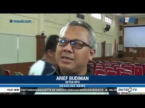KPU Kembali Buka Pendaftaran Calon Pilkada Di 13 Daera