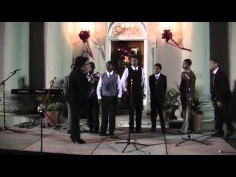 Precious Melodies Youth Male Choir At Premier's Tree Lighting Dec 3 2011