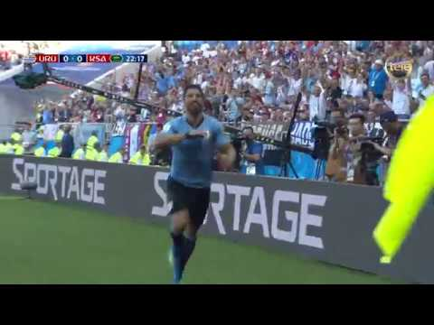 Rusia 2018 | Gol de Luis Suárez ante Arabia Saudita (20/6/18)