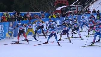 "Biathlon - "" Staffel Damen "" - Oberhof 2020 / "" Relay Women """