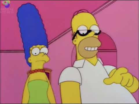 Home Simpson - Happy Dude Auto Dialer
