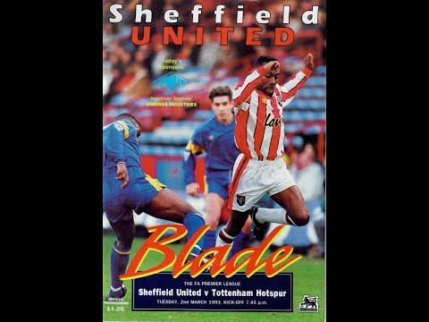 Sheffield United vs Tottenham Hotspur 2/3/1993