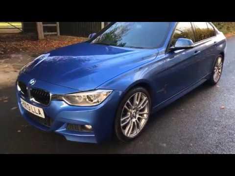 BMW 320d M-Sport In Estoril Blue