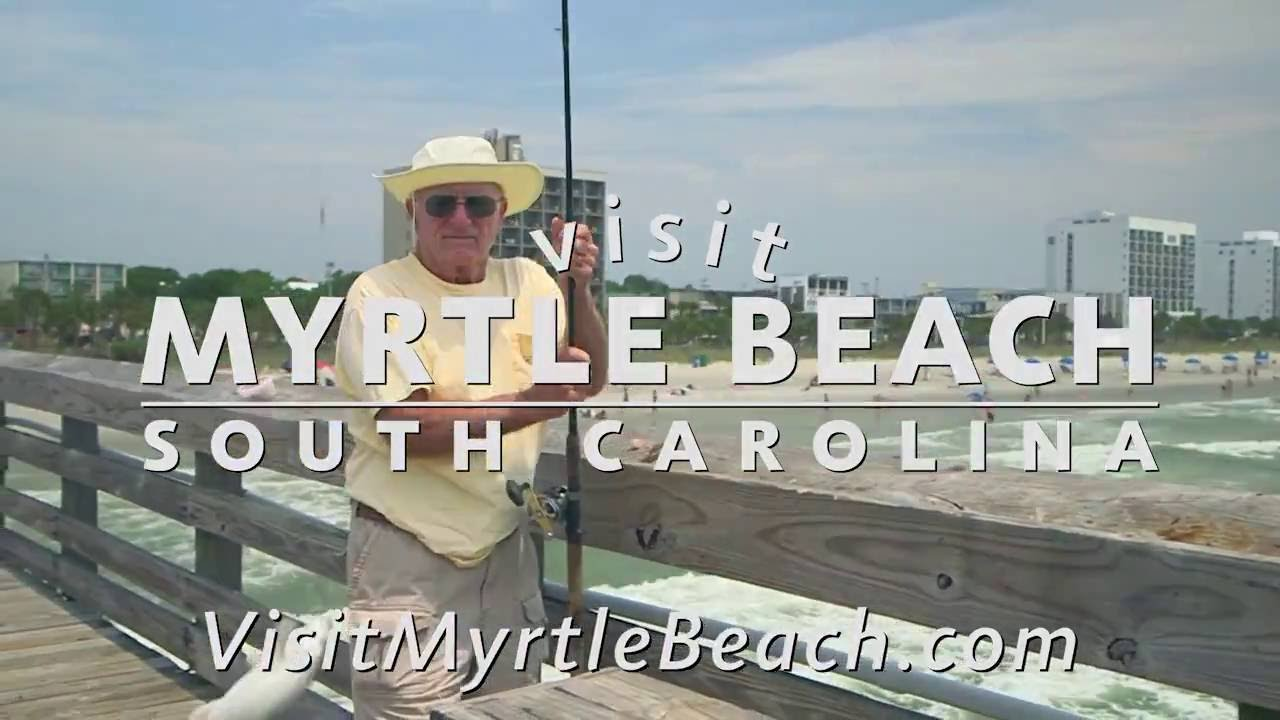 How to bait your hook myrtle beach pier fishing youtube for Myrtle beach pier fishing report