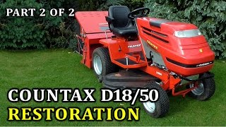 Countax D1850 Diesel Lawn Tractor Restoration | Part 2 of 2