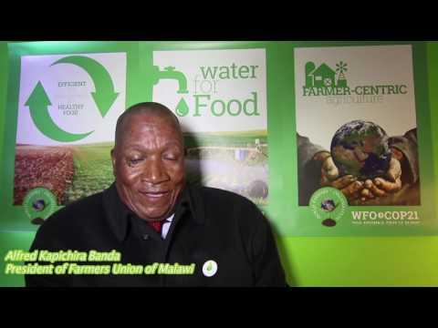 Alfred Kapichira Banda, President of Farmers Union of Malawi, WFO Member