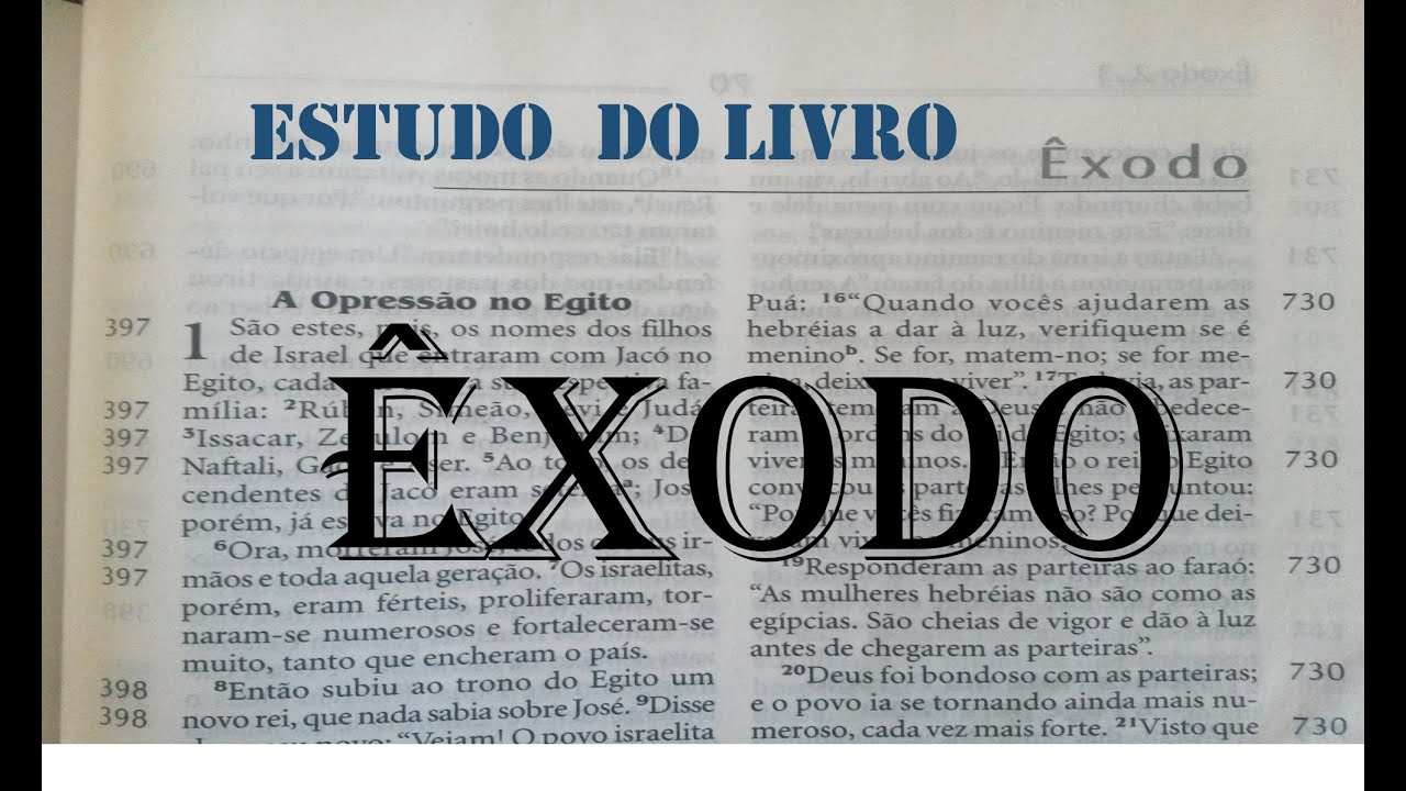 4e62025b5 Estudo Bíblico 19 11 2014 PR. HONÓRIO JR. - LIVRO DO ÊXODO PARTE 2 ...
