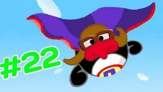 Видео наоборот #22 Смешарики - От винта - 2D