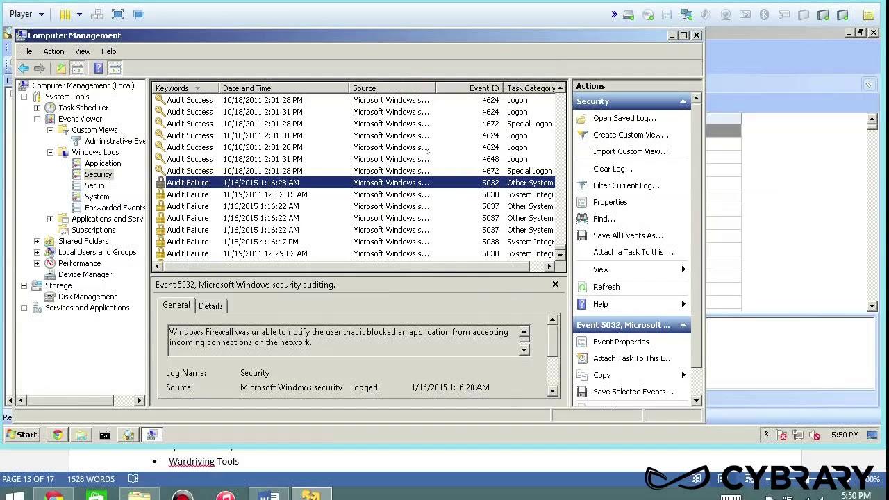 1025 74 Log Capturing and Event Correlation Event Log Explorer Lab Computer  and Hacking Forensic