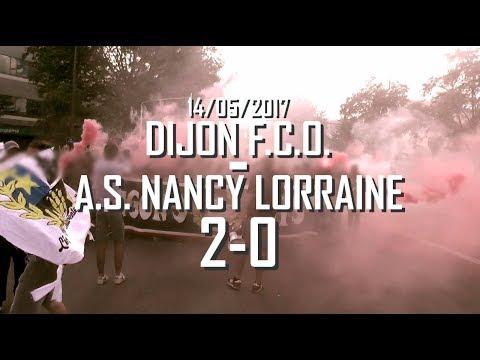 Dijon FCO-AS Nancy Lorraine 14/05/2017 Lingon's Boys