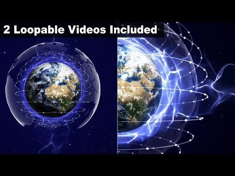 Earth, Connection Network Concept Animation, Rendering, STOCK VIDEO, Background, Loop, 4k