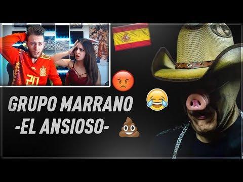 ESPAÑOLES REACCIONAN A GRUPO MARRANO -EL ANSIOSO- | MUSICA MEXICANA