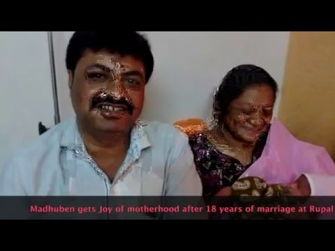 Joy of Motherhood After 18 Years marriage - Infertility Treatment India