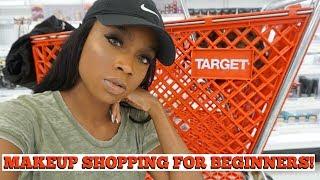 Drugstore Makeup SHOPPING for Beginners | Makeup Starter Kit | Target