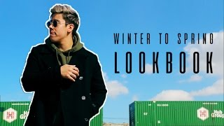 MEN'S WINTER - SPRING FASHION LOOKBOOK 2017 (3 OUTFITS) | JAIRWOO