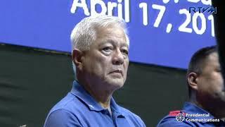 Partido Demokratiko Pilipino - Lakas ng Bayan  Batangas Campaign Rally (Speech)  4/17/2019