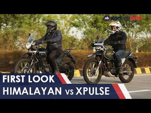 Royal Enfield Himalayan vs Hero XPulse 200: Comparison
