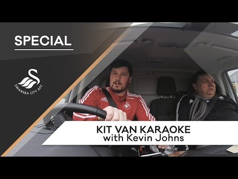 Swans TV - Kit Van Karaoke with Kevin Johns