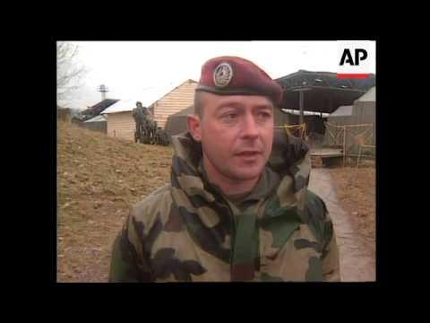 MACEDONIA: FRENCH NATO FORCE MILITARY EXERCISES